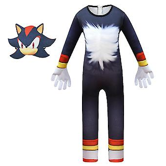 Kids Boys Sonic The Hedgehog Cosplay Costume Fancy Dress Party Outfit