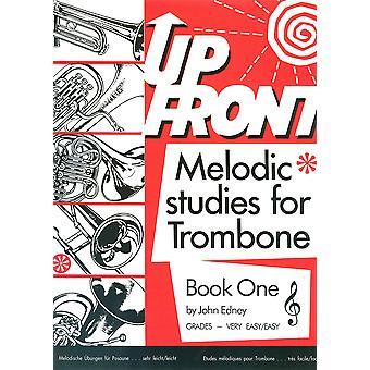 Up Front Melodic Studies Trombone Bk 1 Treble Clef TC