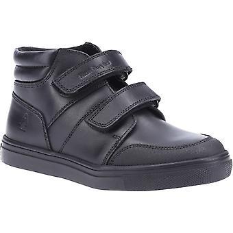 Hush puppies kid's seth junior boot black 32570