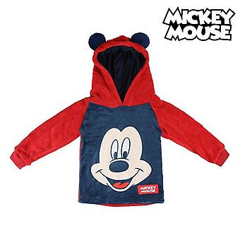 Sudadera con capucha para niños Mickey Mouse 74224 Rojo Rojo