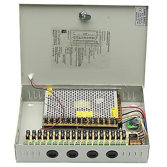 18 Channel 12V DC CCTV Security Cameras Power Supply Distribution Switch Box