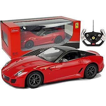 RC-auto - kauko-ohjattava Ferrari 599 - Punainen - 37 cm