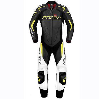 スパイディ GB スーパースポーツ ウインド プロ スーツ ブラック/ホワイト/イエロー Y124-394