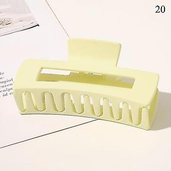 Nordisch inspiriertes Design umweltfreundliche Haarkrallenclips(20)