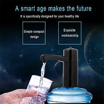 משאבת מים חשמליים אלחוטיים שתיית מתקן מים בבקבוקים יד לחץ