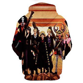 3d Casual Hombres y Mujeres Anime Impresión sudadera con capucha tridimensional