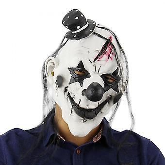 Halloween kostymparty masker Halloween Latex Clown Mask för vuxna