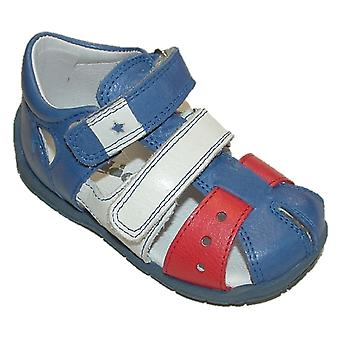Froddo chłopcy G2150071-1 zamknięte Toe sandały niebieski