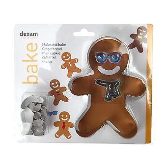 Dexam Make and Bake Gingerbread Man Cookie Cutter Set