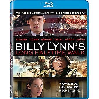 Billy Lynn pitkät Halftime Walk [Blu-ray] Yhdysvallat tuoda