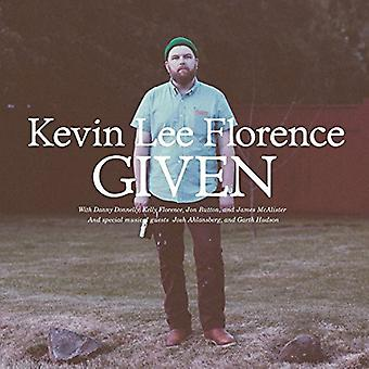 Kevin Lee Florence - Given [CD] USA import