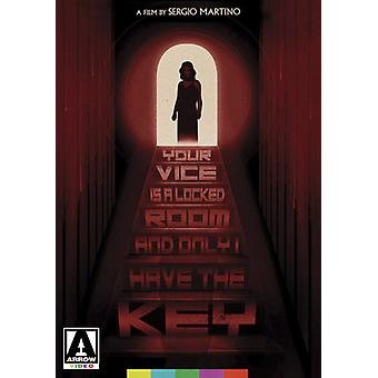 Your Vice Is a Locked Room and Only I Have the Key [DVD] USA import