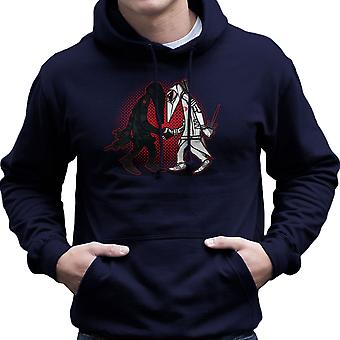 Ninja Vs Ninja slangogen Vs Storm Shadow Spy Vs Spy GI Joe mannen Hooded Sweatshirt