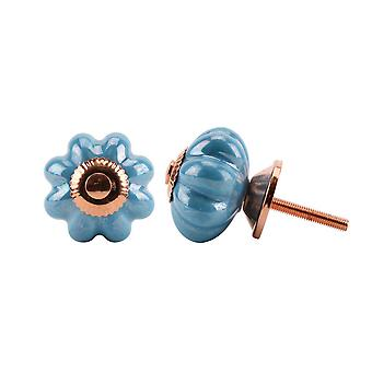 CGB Giftware Blue Melon Classic Drawer Handle