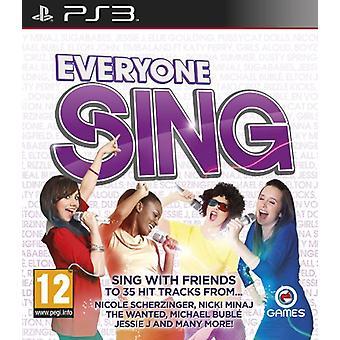 Alle singen (PS3) - Wie neu