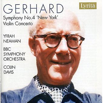 R. Gerhard - Roberto Gerhard: Symphony No. 4 'New York'; Violin Concerto [CD] USA import
