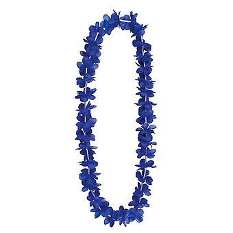 Hawajski kwiat Elena Lei - niebieski