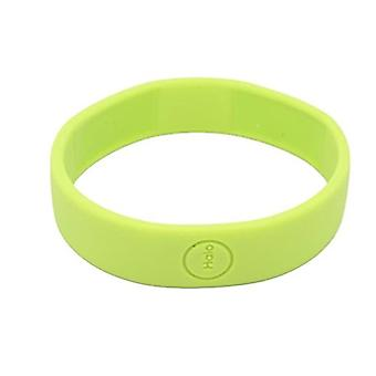 Haloband NFC-tag bracelet to control actions - Green