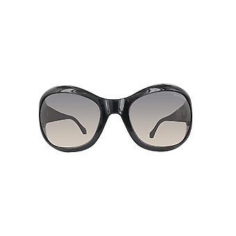 Roberto Cavalli dames zonnebril RC794S-01 B-62 glanzend zwart / kleurovergang rook