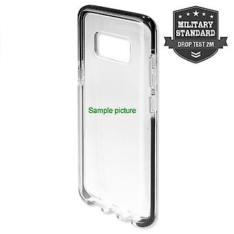 MILITARY Soft Cover AIRY-SHIELD Schutzhülle für Samsung Galaxy S9 Plus G965F TPU Schwarz