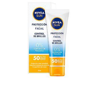 NIVEA Sun Gesichtsbehandlung Kontrolle De Brillos Spf50 50 Ml Unisex
