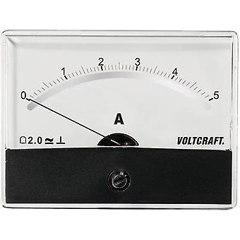 VOLTCRAFT AM-86X65/5A/DC Panel-Messgerät AT THE-86 X 65/5 A/DC