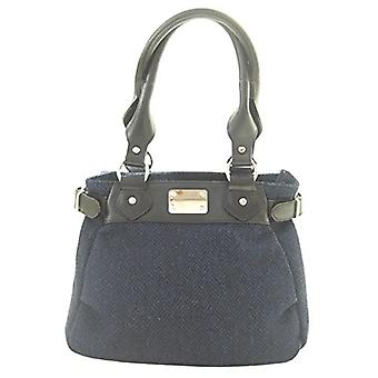 Harris Tweed Handbag Sophie (Navy)