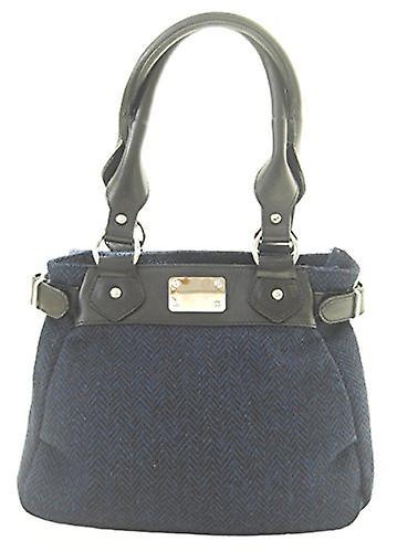 Harris Tweed Handbag Sophie (Navy)