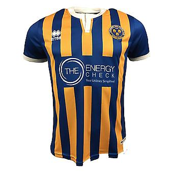 2018-2019 Shrewsbury Town Errea Home Football Shirt
