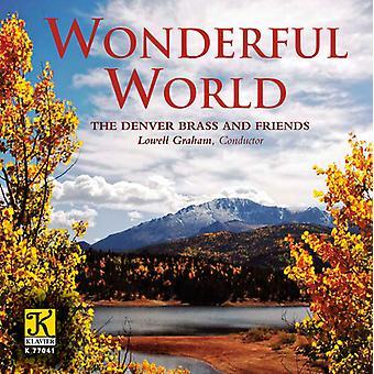 Denver Brass & Friend - Wonderful World [CD] USA import