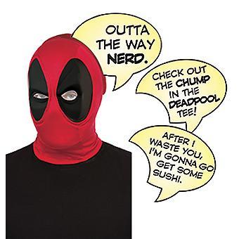 Yetişkinler için Deadpool Mask Deluxe