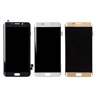 Stuff Certified® Samsung Galaxy S6 Edge Screen (Touchscreen + AMOLED + Parts) A + Quality - Black / White / Gold / Blue