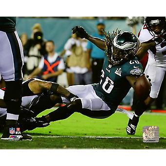 Jay Ajayi 2018 Action Photo Print