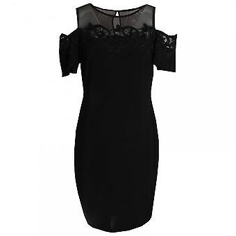 Frank Lyman Drop Sleeve Lace Detail Shift Dress