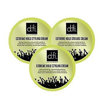 3-Pack D:fi Extreme Cream 75g