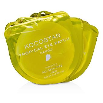 Kocostar Tropical Eye Patch Unscented - Mango (individually Packed) - 10pairs