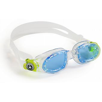 Aqua Sphere Moby Junior Swimming Goggle - Blue Lenses - Clear