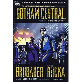 Gotham Central - Volume 1 - no cumprimento do dever por Michael Lark - Ed Br