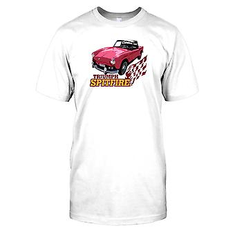 Triumph Spitfire - Classic Car Herre T-shirt