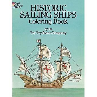 Velieri storici Colouring Book