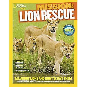 NGK missione: Salvataggio degli animali: leoni (National Geographic Kids)