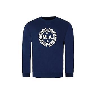 MARSHALL ARTIST Casually Crafted Navy Sweatshirt