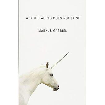 Waarom de wereld bestaat niet