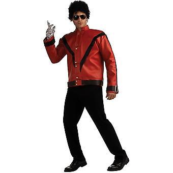 Thriller de Michael Jackson rouge veste adulte
