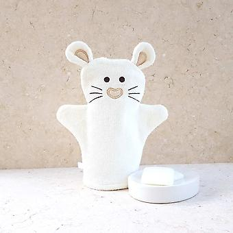 Little Mouse bath mitt