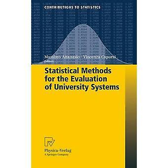 Méthodes statistiques pour l'évaluation des systèmes de l'université par Attanasio & Massimo