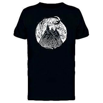 Mountain Landscape At Night Tee Men's -Image by Shutterstock