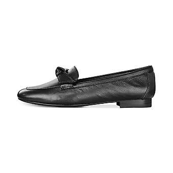 Alfani Womens Cass Leather Almond Toe Loafers