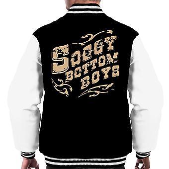 O Brother Where Art du Soggy Bottom Boys mäns Varsity jacka