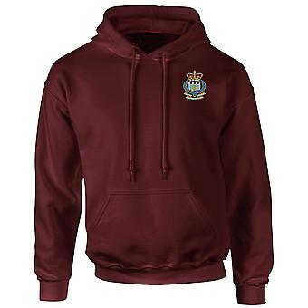 Royal Army Ordnance Corps RAOC brodert Logo - offisielle britiske hæren Hoodie Hettegenser